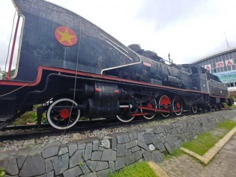 Zugfahren in Vietnam