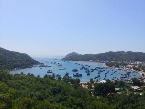 Die Küstenstraße von Vinh Hy
